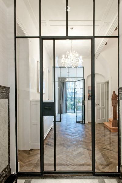 Exceptionnel A Timeless Classic; Thin Steel Window And Door Frames. | Hallways |  Pinterest | Doors, Interior And Steel Doors