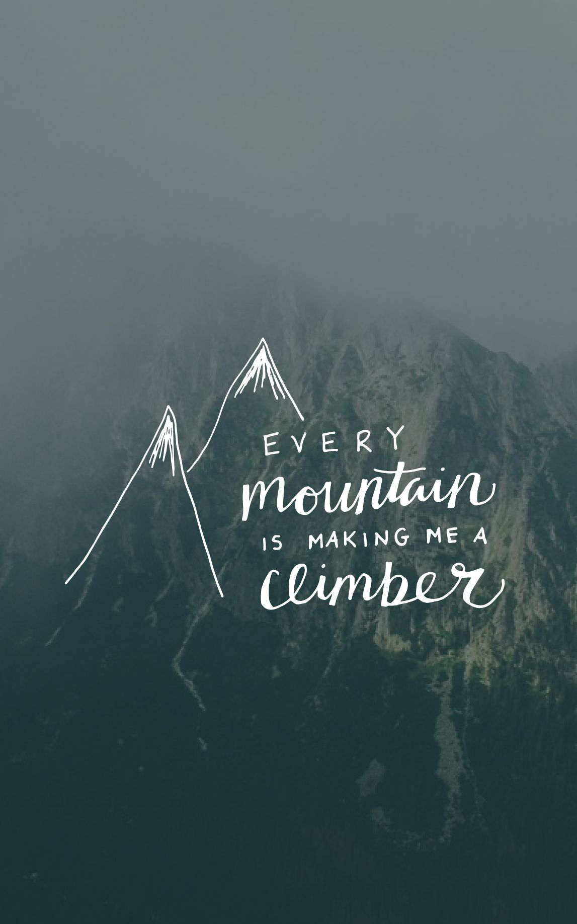 every mountain making me a climber, meredith andrews britt