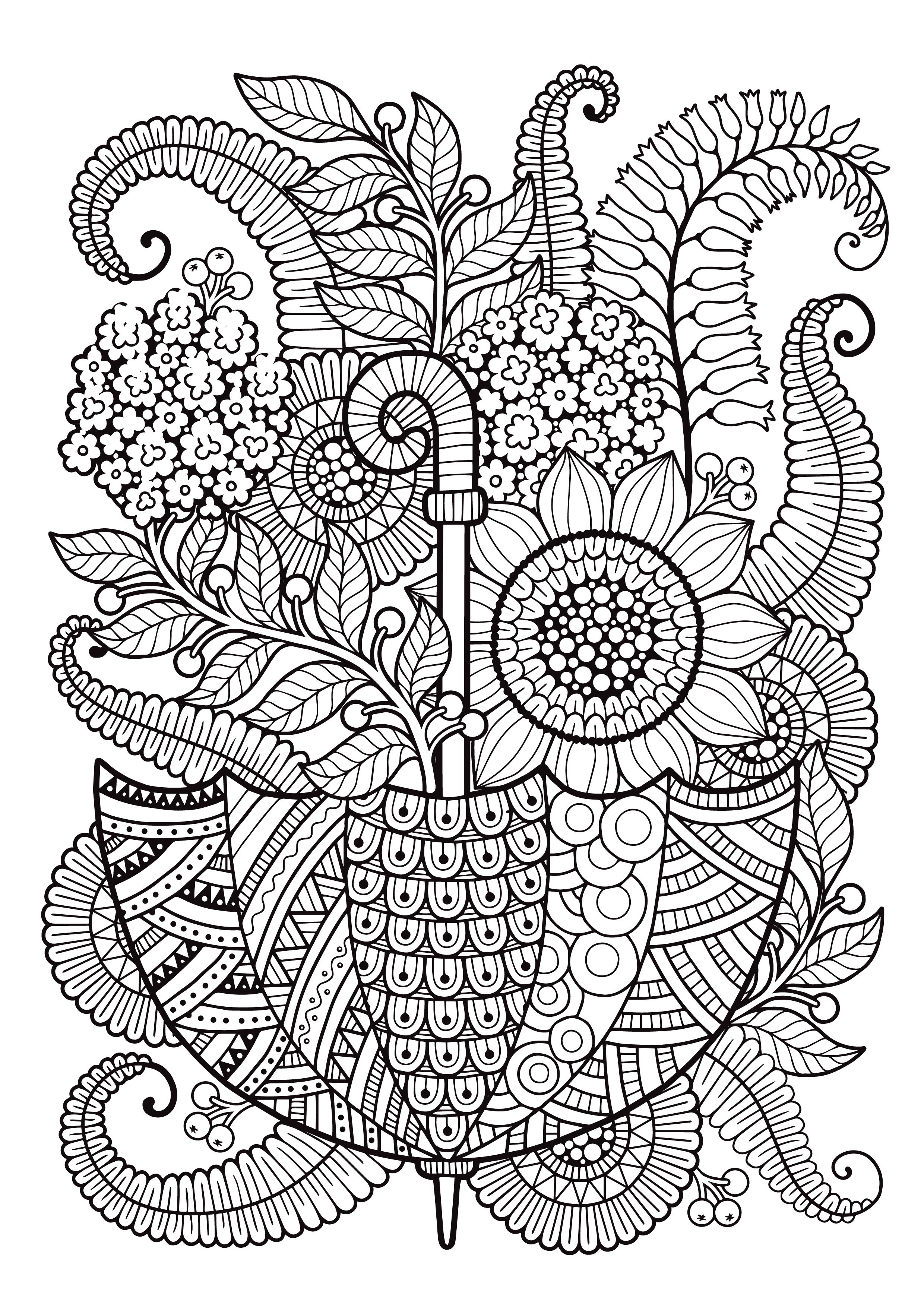 Printable Mindfulness Coloring Pages