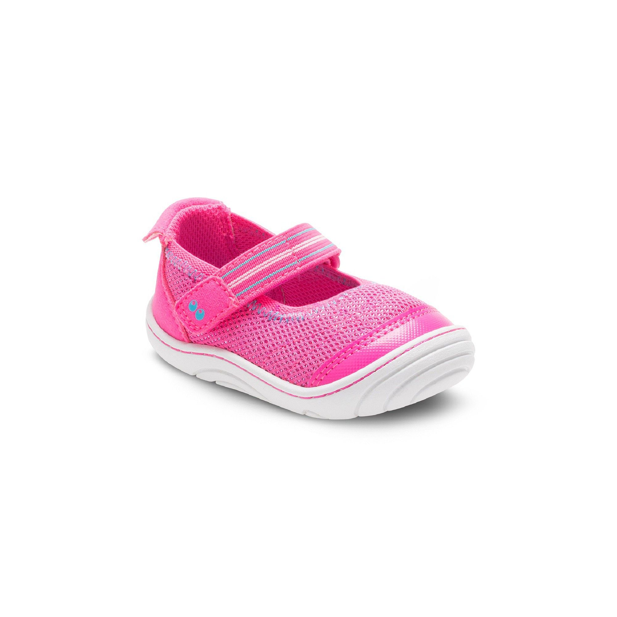 Baby Girls Surprize by Stride Rite Petula Mary Jane Shoes Pink 3
