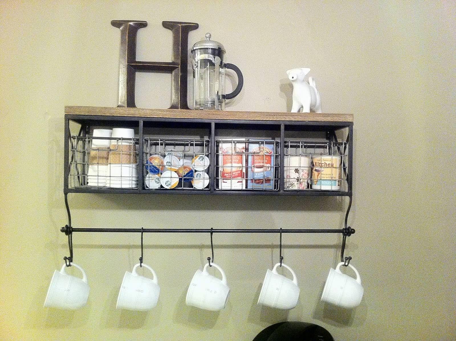Good morning sunshine! My DIY coffee bar (With images