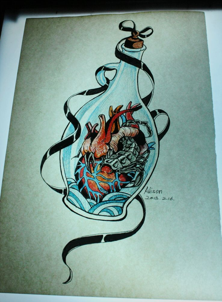 Scorpio Aquarius Tattoo Design By Pingguotou1119 On