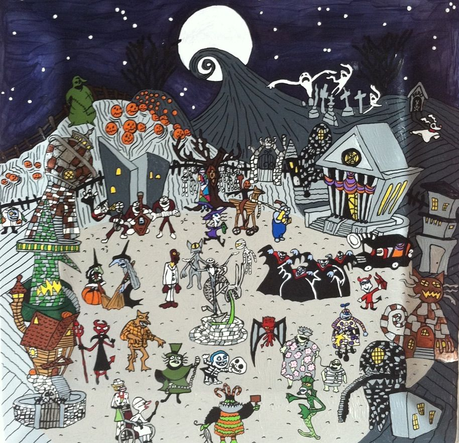 Pin by Johnny G on Nightmare Before Christmas Mix