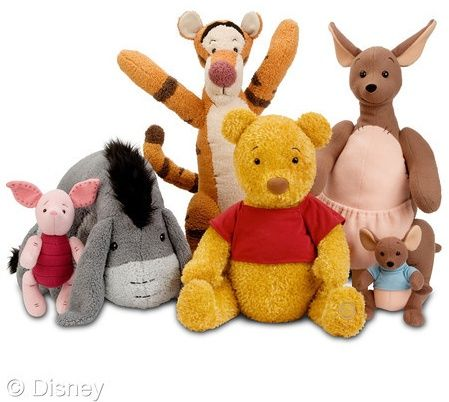145d183ad326 Fun New Winnie the Pooh Plush Toys Fresh From the Hundred Acre Woods ...