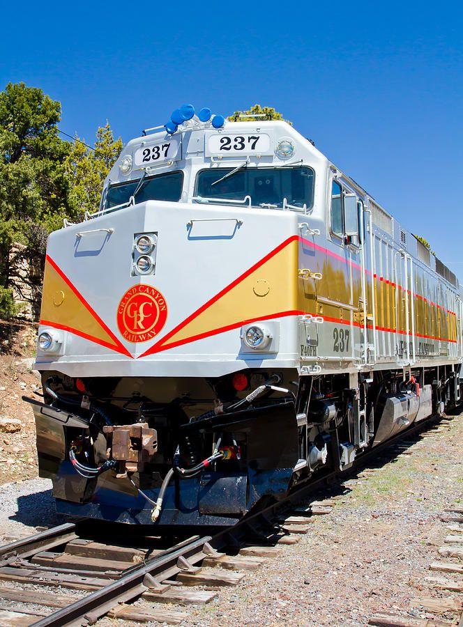 Grand Canyon Railway Locomotive Photograph -