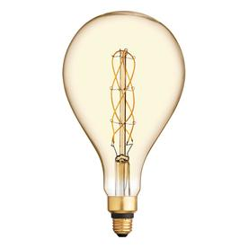 Ge Vintage 40 Watt Eq Amber Dimmable Edison Light Bulb 93100104