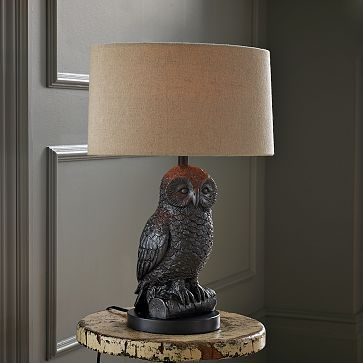 This Is A Great Lamp That Would Freak Out Little Kids Owl