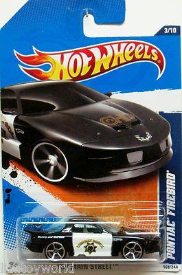 Loose Hot Wheels Black Highway Patrol Camaro Z-28 w//5 Spoke Wheels