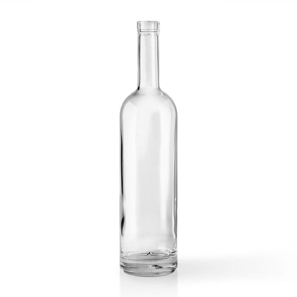 Show details for 750 ml Clear Glass Tall Viking Liquor Bottle w/ Bar ...