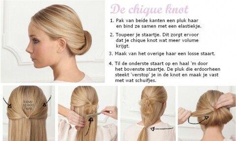 Top Makkelijk haar opsteken | Hair | Haar opsteken, Lang haar opsteken &MC04