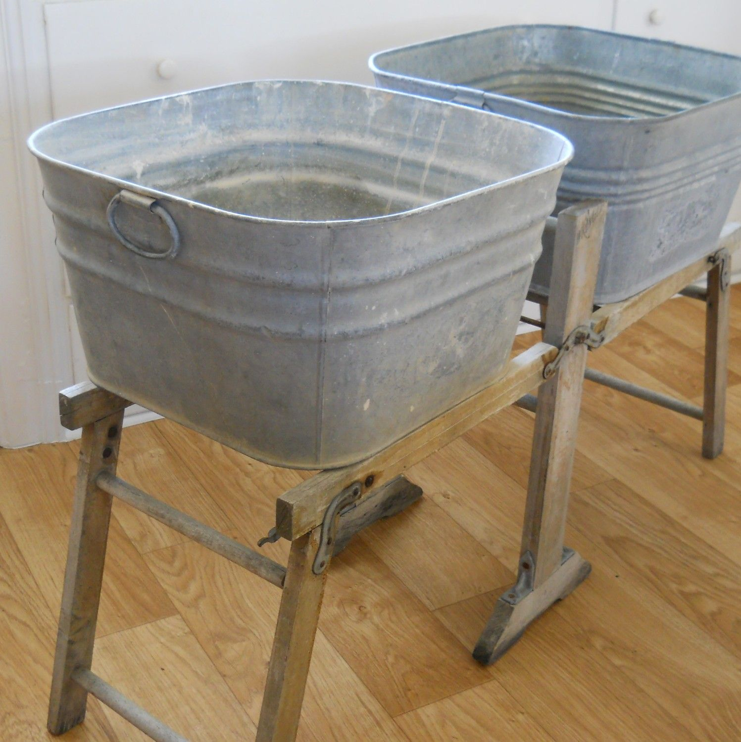 stand beer cooler by galvanized tub fullxfull wheeling theoldgrainery sold flower plant listing pot with il single wash