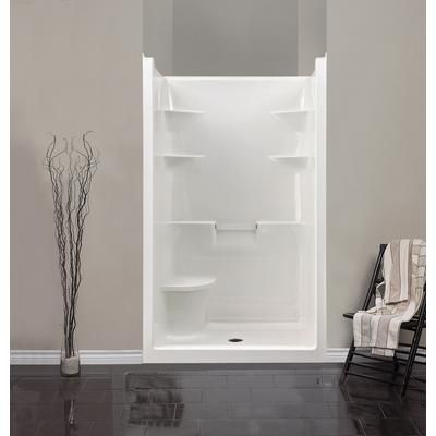Mirolin Melrose 4 Acrylic 1 Piece Shower Stall With Seat