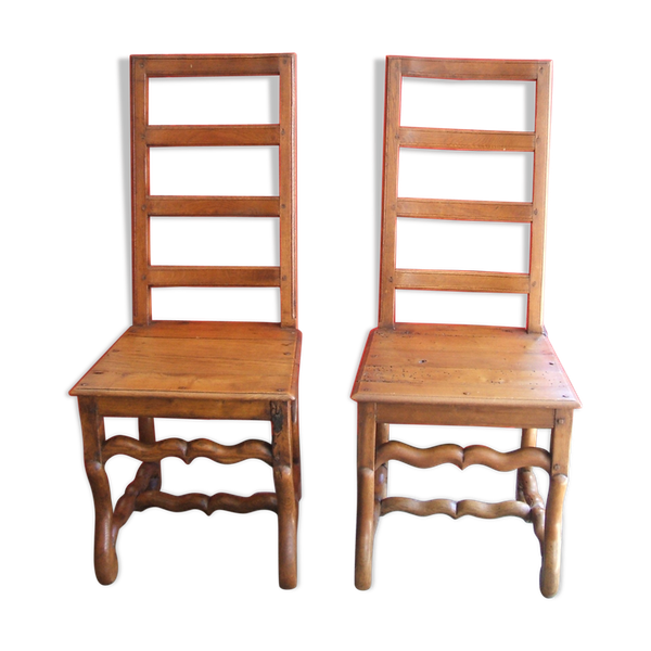 Paire de chaises de style Louis XIII   – Products