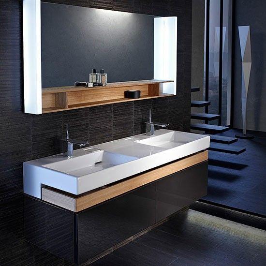 Mueble de baño TERRACE Jacob Delafon de ANCHO 150 cm con ...