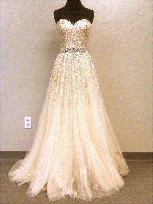 glamorous glitter wedding dresses design ideas 3