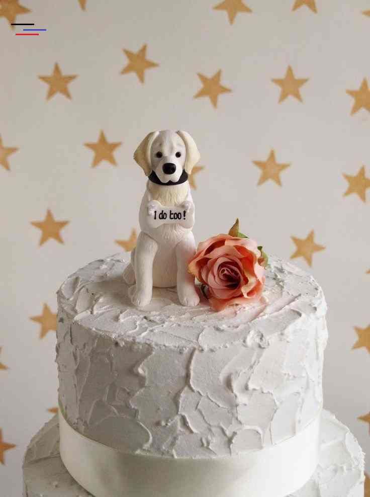 Cream Retriever Dog Cake Topper Golden Retriever Cake Topper Dog Wedding Cake Decoration Cream Retriever Dog Cake Topper Golden Retriever Cake Topper Etsy In 2020 Met Afbeeldingen
