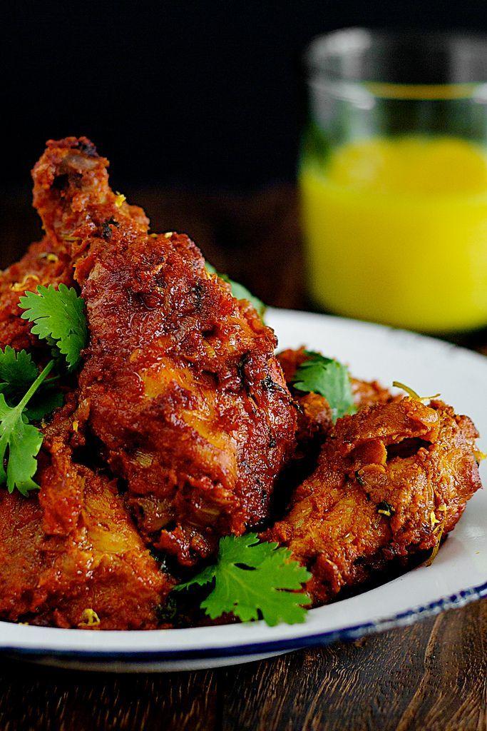 ayam masak merah - Malay spicy tomato chicken.