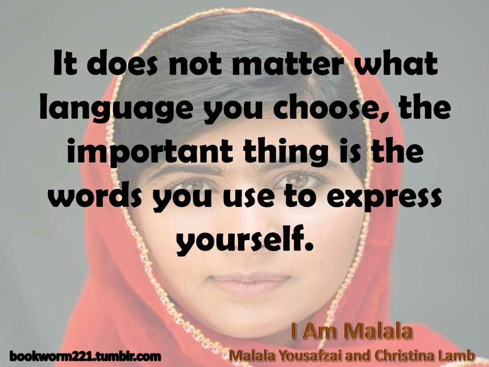 I Am Malala By Malala Yousafzai And Christina Lamb Favorite Quotes Inspiration I Am Malala Quotes