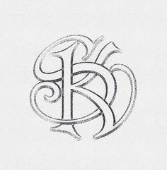 SK Monogram Interlaced By Arno Kathollnig