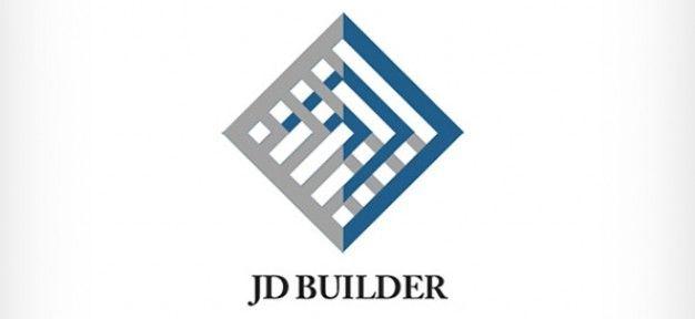 diamond shaped logo design for construction company logo