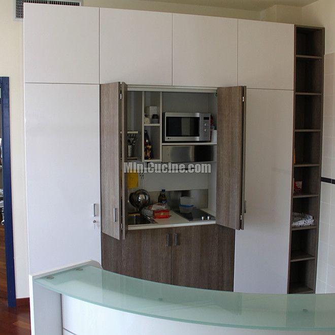 Cucine a scomparsa, Mini Cucine monoblocco