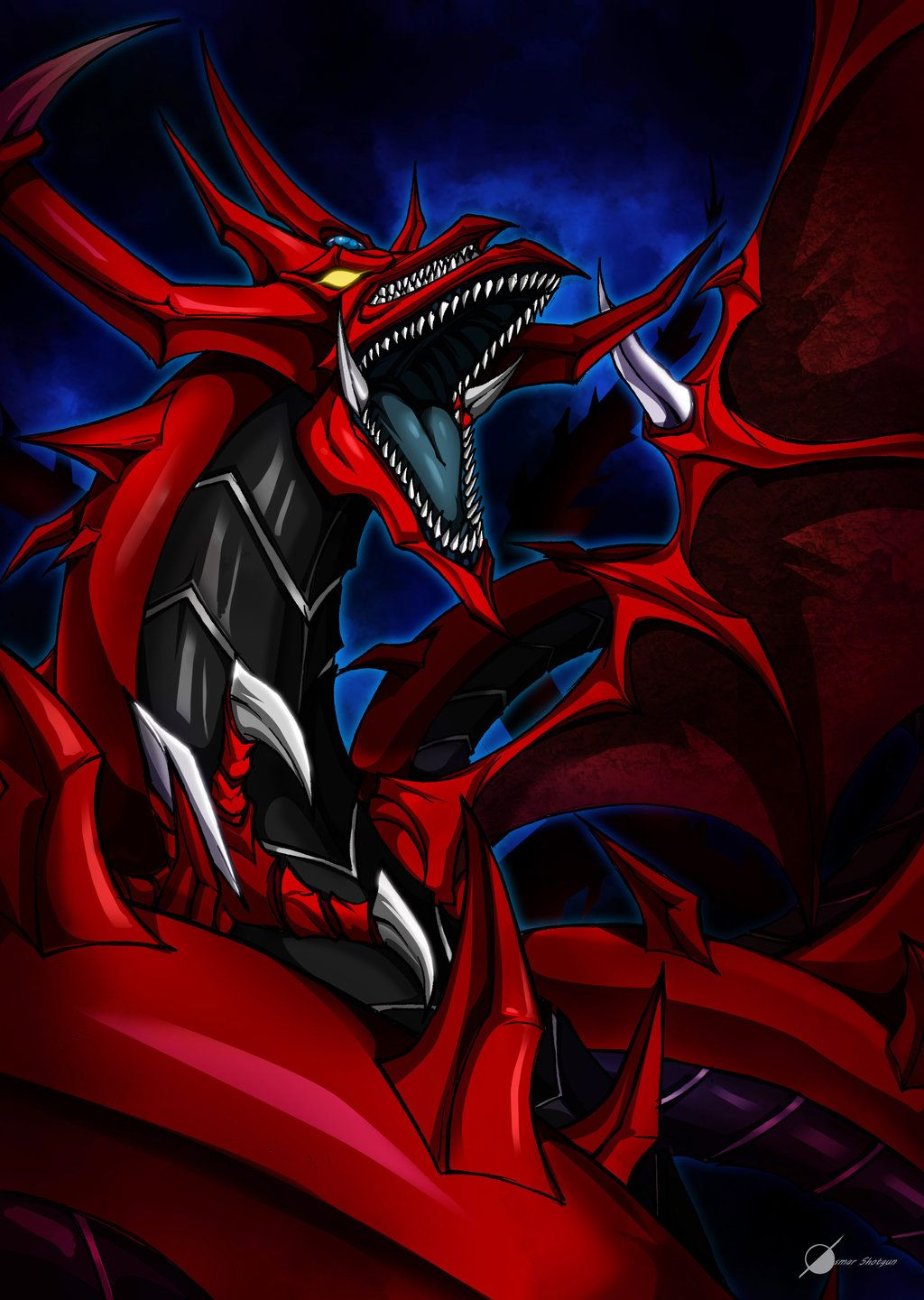 slifer the sky dragon duel monsters pinterest dragon sky and