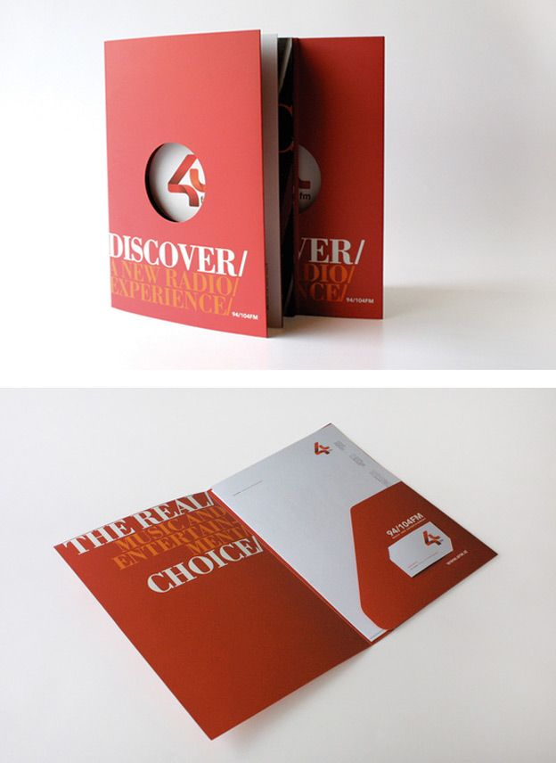 folder 21 creative presentation folder designs circles pinterest