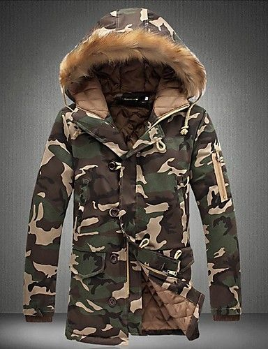 221e3ef5df4d7 This camo coat is great for cold winter days. It has a faux fur lined
