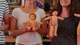 Photo of Minipüppchen für Neugeborene nach Art der Waldorfpuppe – für Neugeborere geei …