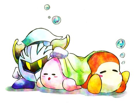 Meta Knight you can be a bit of a softy sometimes, you know that? ;)