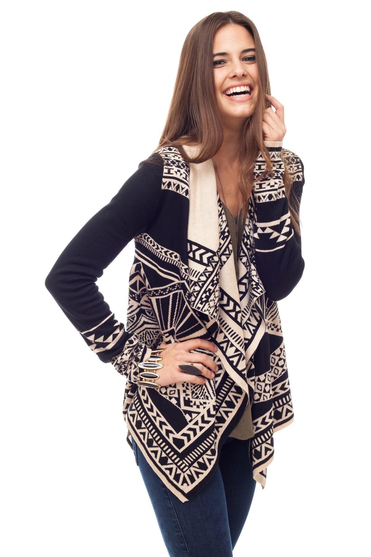 Naya navajo shawl cardigan ropa y zapatos pinterest shawl