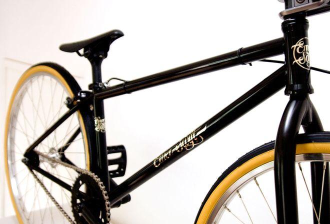 Emery Swift bike, Logo by Seb Lester