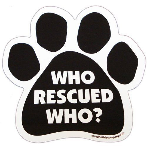 I LOVE MY BOXERCar Magnet Picture PawsDog Paw Shaped Magnets