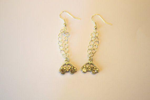 cute little bug car earrings by Adorato on Etsy, $7.95