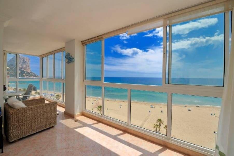 Apartment For Sale In Playa De Arenal Calpe Ref A0693 Apartamentos De Lujo Terraza Acristalada Casas De Lujo