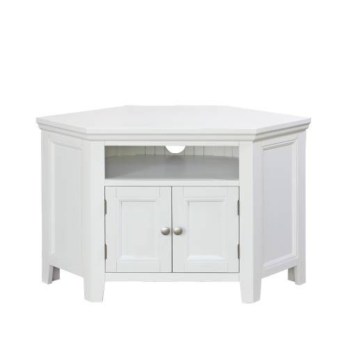 Exceptionnel White Corner Tv Cabinet Corner Tv Stand 580 008