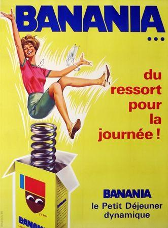 Top Banania -  Du ressort pour la journée ! 1966 - | Le quotidien  OK91