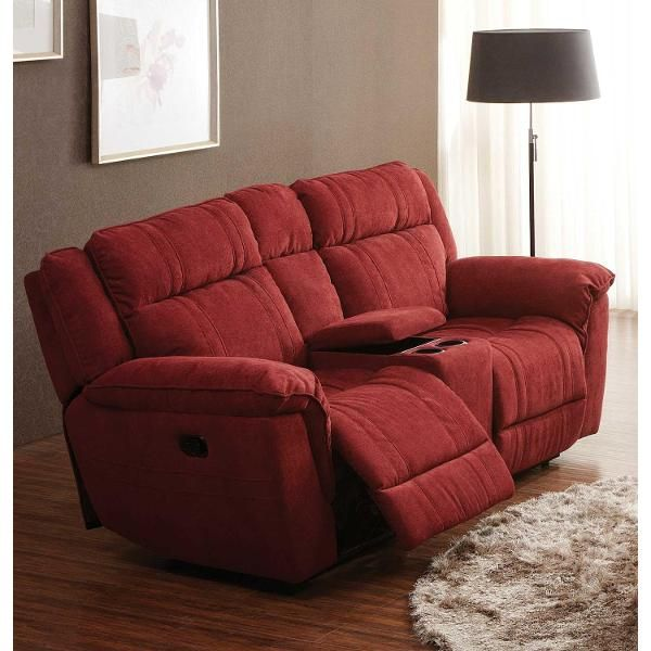 Amazing Cranberry Microfiber Dual Reclining Loveseat K Motion Unemploymentrelief Wooden Chair Designs For Living Room Unemploymentrelieforg