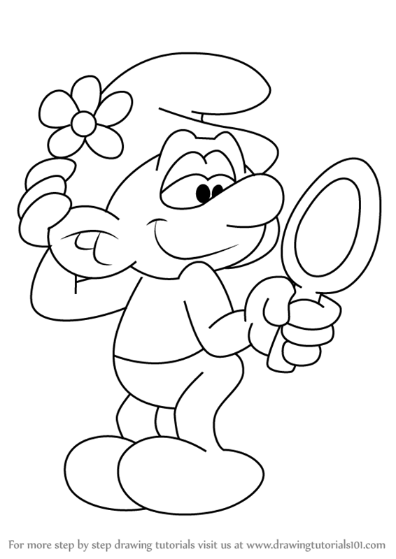Learn How to Draw Vanity Smurf from Smurfs - The Lost ...