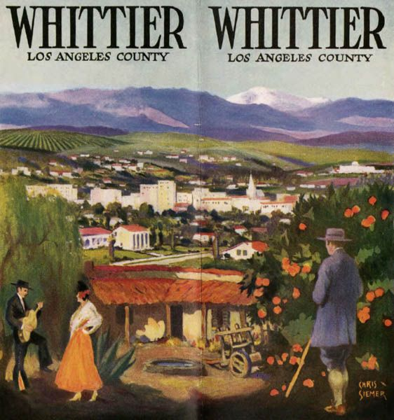 1920 S Whittier California Poster Found On Familysearch