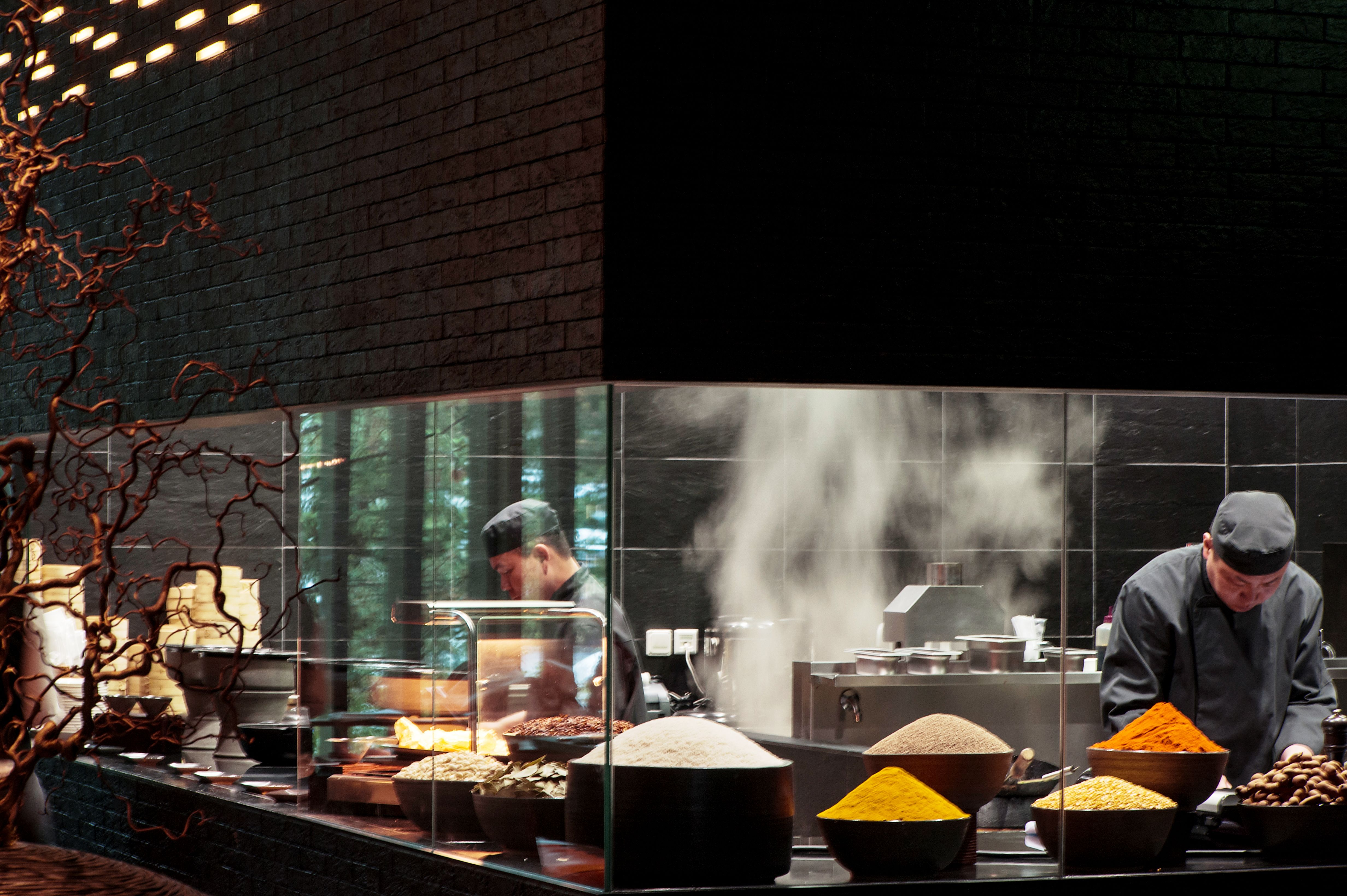 The Chedi Andermatt Restaurant Kitchen Design Kitchen Design