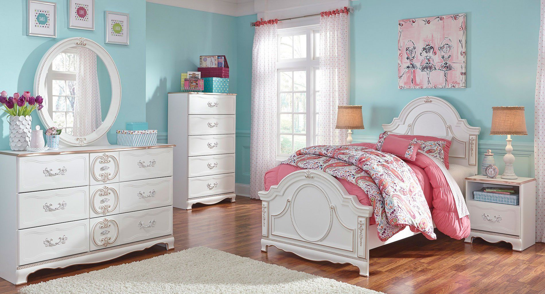 Korabella Panel Bedroom Set In 2020 Master Bedroom Set Bedroom Sets Kids Bedroom Sets