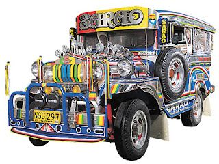 The Sarao jeepney, as we call it - is a remarkable product of the Philippines  -- colorful, unique and elegant.