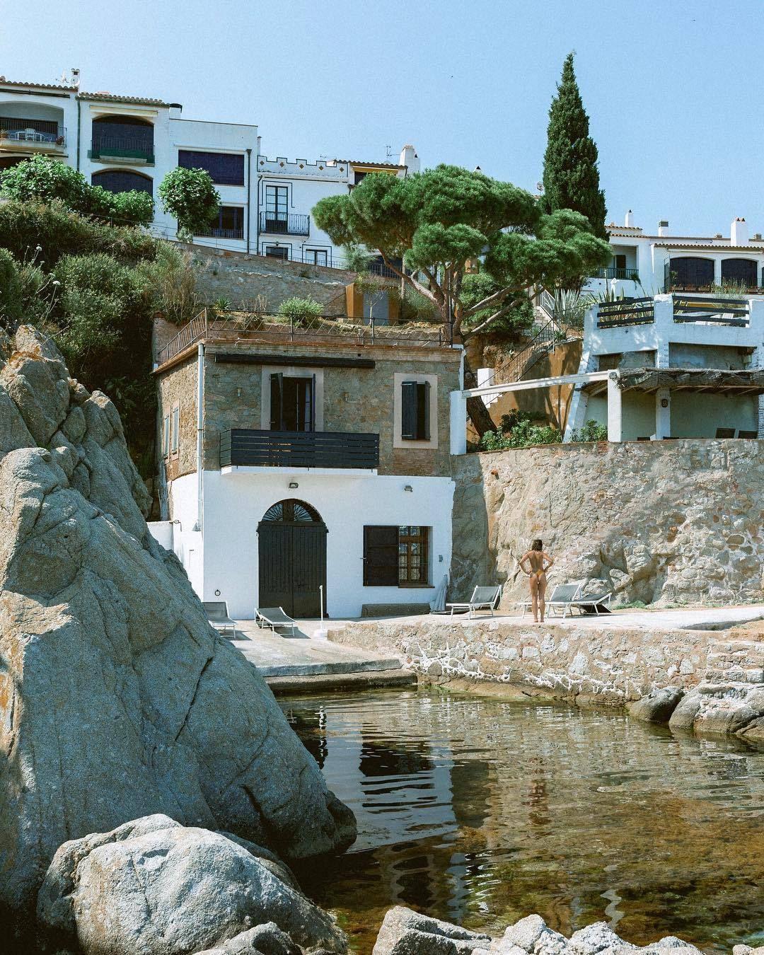 Calella de Palafrugell, Costa Brava. catalunya beachside