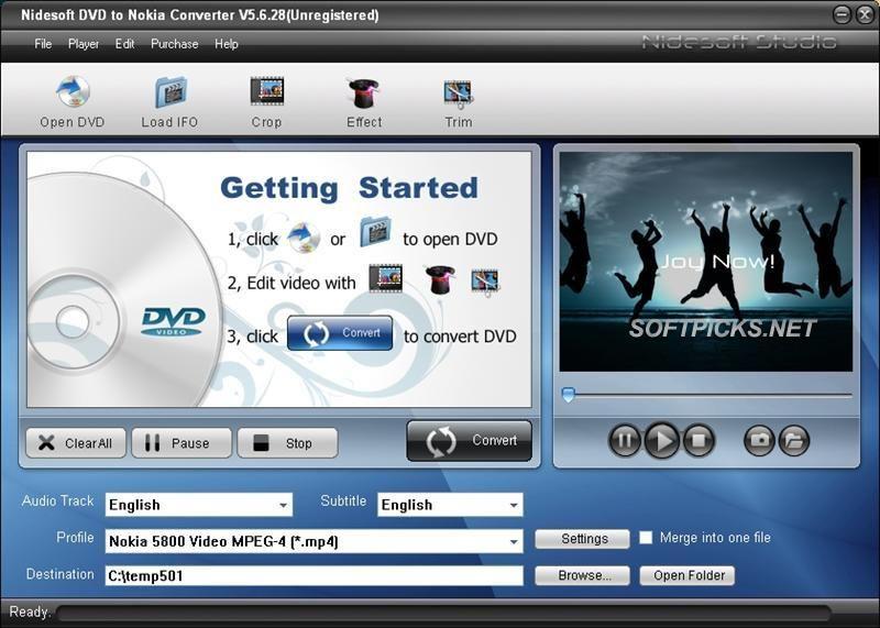 Free Nidesoft Dvd To Avi Converter to download at ...