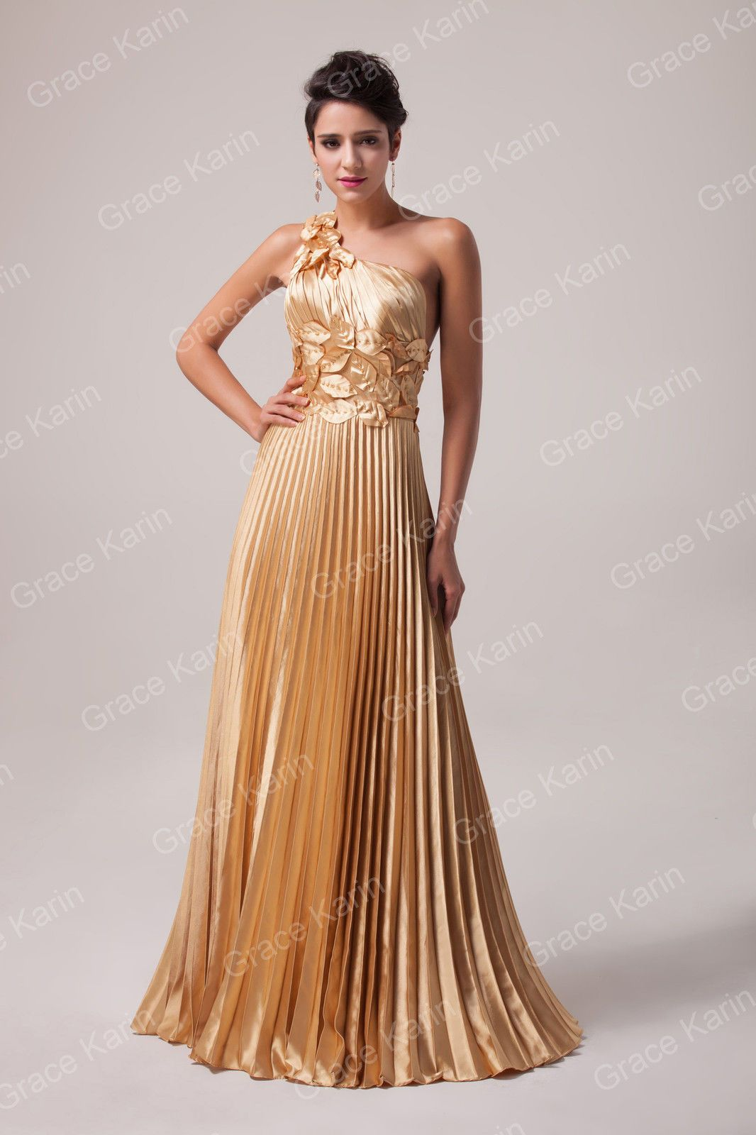 Bridesmaid prom ball long dress for cocktail evening party wedding