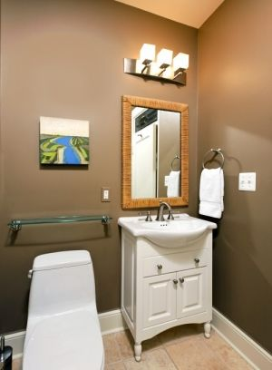 Perfect Greige By Sherwin Williams Paint Color Small Bathroom Remodel Taupe Bathroom Bathrooms Remodel