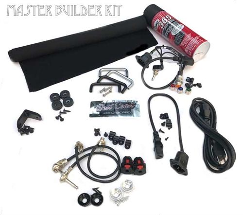 Pedalboard Master Kit For The Ultimate Diy Enthusiast Pedalboard Diy Pedalboard Guitar Pedal Boards