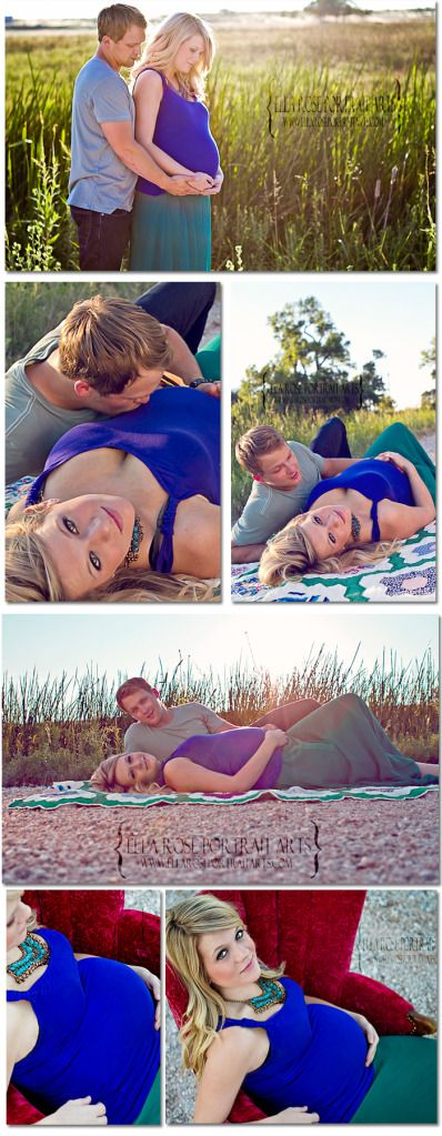 I love the shots of the couple lying down (: