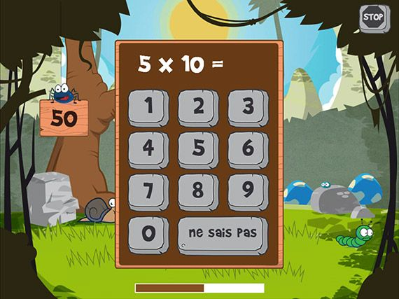 Math blobs multiplication une app int ressante pour for Les multiplications